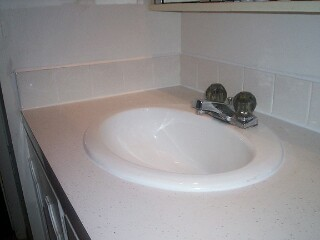 How To Re Caulk A Bathroom Vanity
